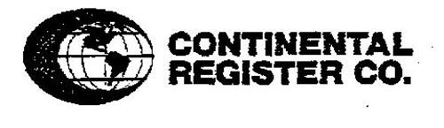 CONTINENTAL REGISTER CO.