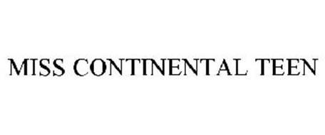 MISS CONTINENTAL TEEN