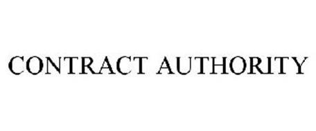 CONTRACT AUTHORITY