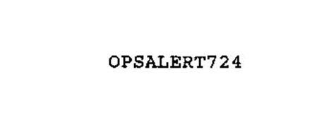 OPSALERT724
