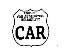 COUNCIL FOR AUTOMOTIVE RELIABILITY CAR AND DESIGN
