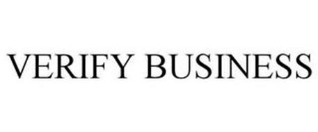 VERIFY BUSINESS