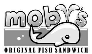 MOBY'S ORIGINAL FISH SANDWICH
