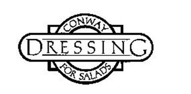 CONWAY DRESSING FOR SALADS