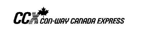 CCX CON-WAY CANADA EXPRESS