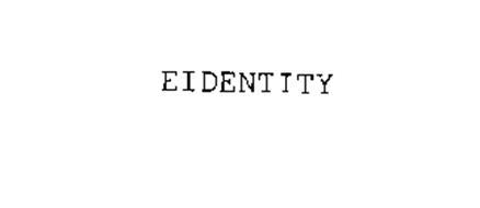 EIDENTITY