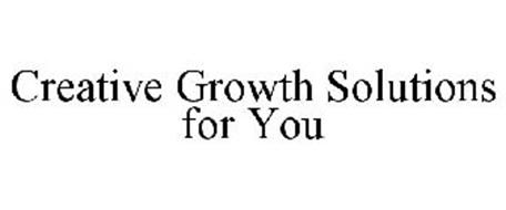 CREATIVE GROWTH SOLUTIONS FOR YOU!