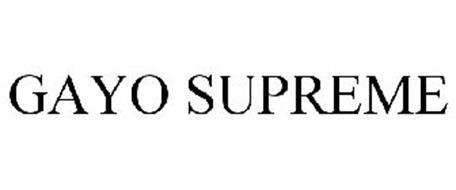 GAYO SUPREME