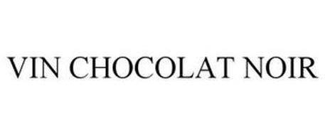 VIN CHOCOLAT NOIR