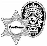 COPWARE FOR PEACE OFFICERS BY PEACE OFFICERS CW LAW ENFORCEMENT REFERENCE TOOLS INFORMATION TECHNOLOGY
