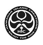 HIC HAWAIIAN ISLAND CREATIONS ENJOY THERIDE