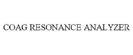 COAG RESONANCE ANALYZER