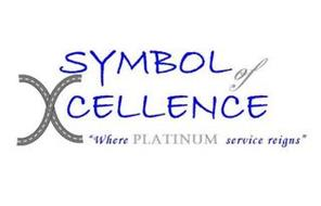 "SYMBOL OF XCELLENCE ""WHERE PLATINUM SERVICE REIGNS"""