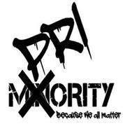 PRI X MINORITY BECAUSE WE ALL MATTER