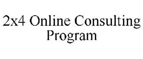 2X4 ONLINE CONSULTING PROGRAM
