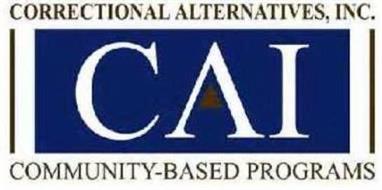 CORRECTIONAL ALTERNATIVES, CAI, COMMUNITY-BASED PROGRAMS