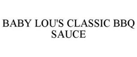 BABY LOU'S CLASSIC BARBECUE SAUCE