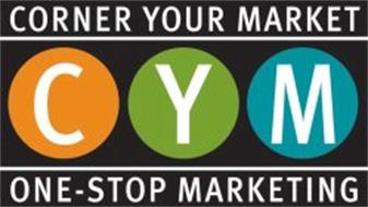 CORNER YOUR MARKET CYM ONE-STOP MARKETING