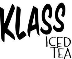 KLASS ICED TEA