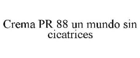 CREMA PR 88 UN MUNDO SIN CICATRICES