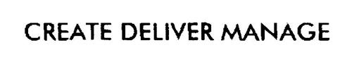 CREATE DELIVER MANAGE