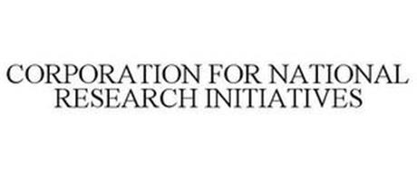 CORPORATION FOR NATIONAL RESEARCH INITIATIVES