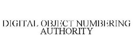 DIGITAL OBJECT NUMBERING AUTHORITY