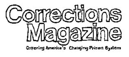 corrections magazine plus other notations trademark of correctional information service inc. Black Bedroom Furniture Sets. Home Design Ideas