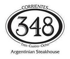 CORRIENTES 348 - TRES · CUATRO · OCHO -ARGENTINIAN STEAKHOUSE