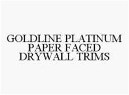 GOLDLINE PLATINUM PAPER FACED DRYWALL TRIMS