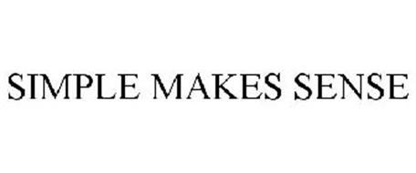 SIMPLE MAKES SENSE