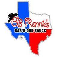 BIG RONNIE'S BAR-B-QUE SAUCE