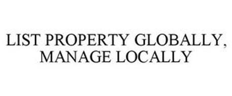 LIST PROPERTY GLOBALLY, MANAGE LOCALLY