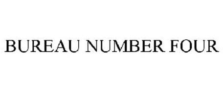 bureau number four trademark of cosway company inc ForBureau Number