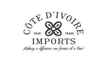 COTE D'IVOIRE FAIR TRADE IMPORTS MAKING A DIFFERENCE ONE FARMER AT A TIME!