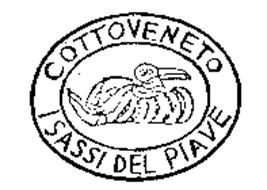 COTTOVENETO I SASSI DEL PIAVE Trademark of COTTO VENETO - S.R.L. ...