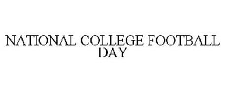 NATIONAL COLLEGE FOOTBALL DAY