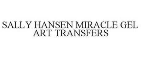 SALLY HANSEN MIRACLE GEL ART TRANSFERS