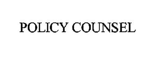 POLICY COUNSEL