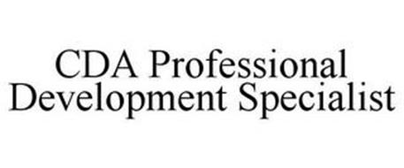 CDA PROFESSIONAL DEVELOPMENT SPECIALIST