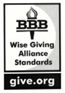 BBB WISE GIVING ALLIANCE STANDARDS GIVE.ORG