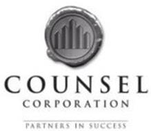 COUNSEL CORPORATION PARTNERS IN SUCCESS