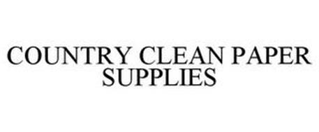 COUNTRY CLEAN PAPER SUPPLIES
