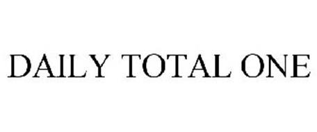 DAILY TOTAL ONE