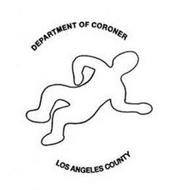 DEPARTMENT OF CORONER LOS ANGELES COUNTY