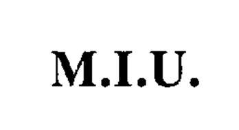 M.I.U.