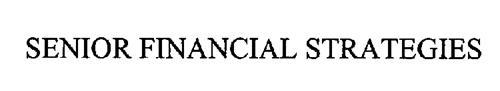 SENIOR FINANCIAL STRATEGIES
