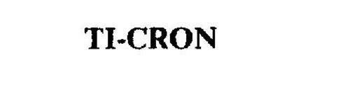 TI-CRON