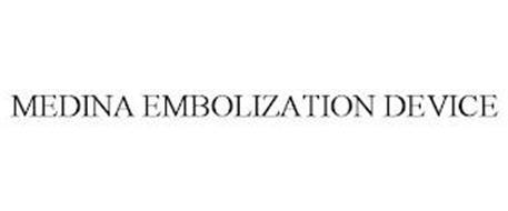 MEDINA EMBOLIZATION DEVICE