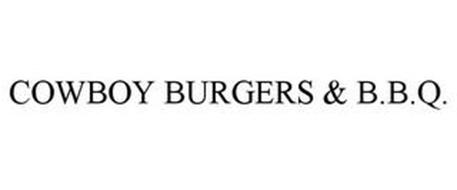 COWBOY BURGERS & B.B.Q.
